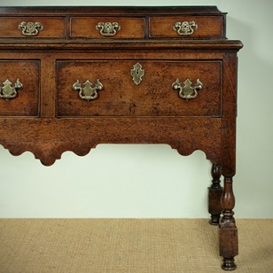 Georgian Open Dresser with Spice Drawers.