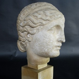 Early 20thC Plaster Bust
