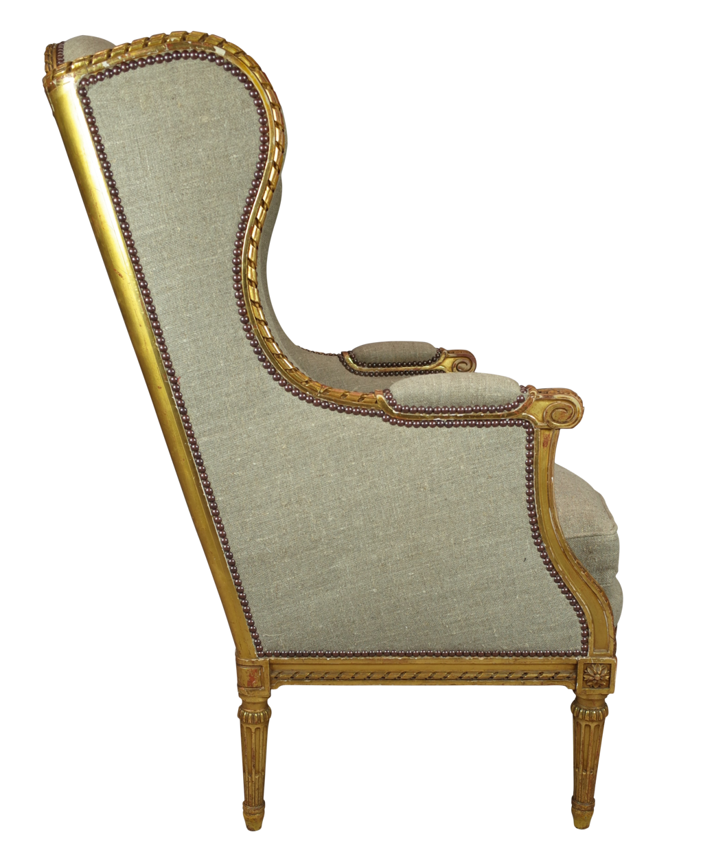 gilt wingback bergere decorative collective. Black Bedroom Furniture Sets. Home Design Ideas