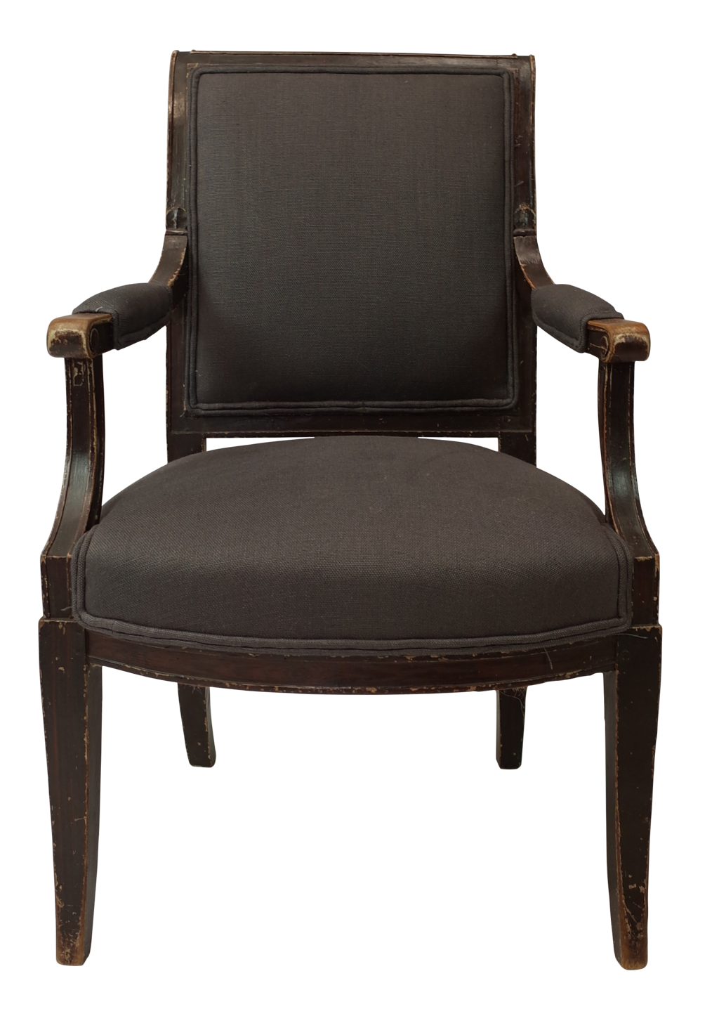 empire fauteuil with original paint decorative collective. Black Bedroom Furniture Sets. Home Design Ideas