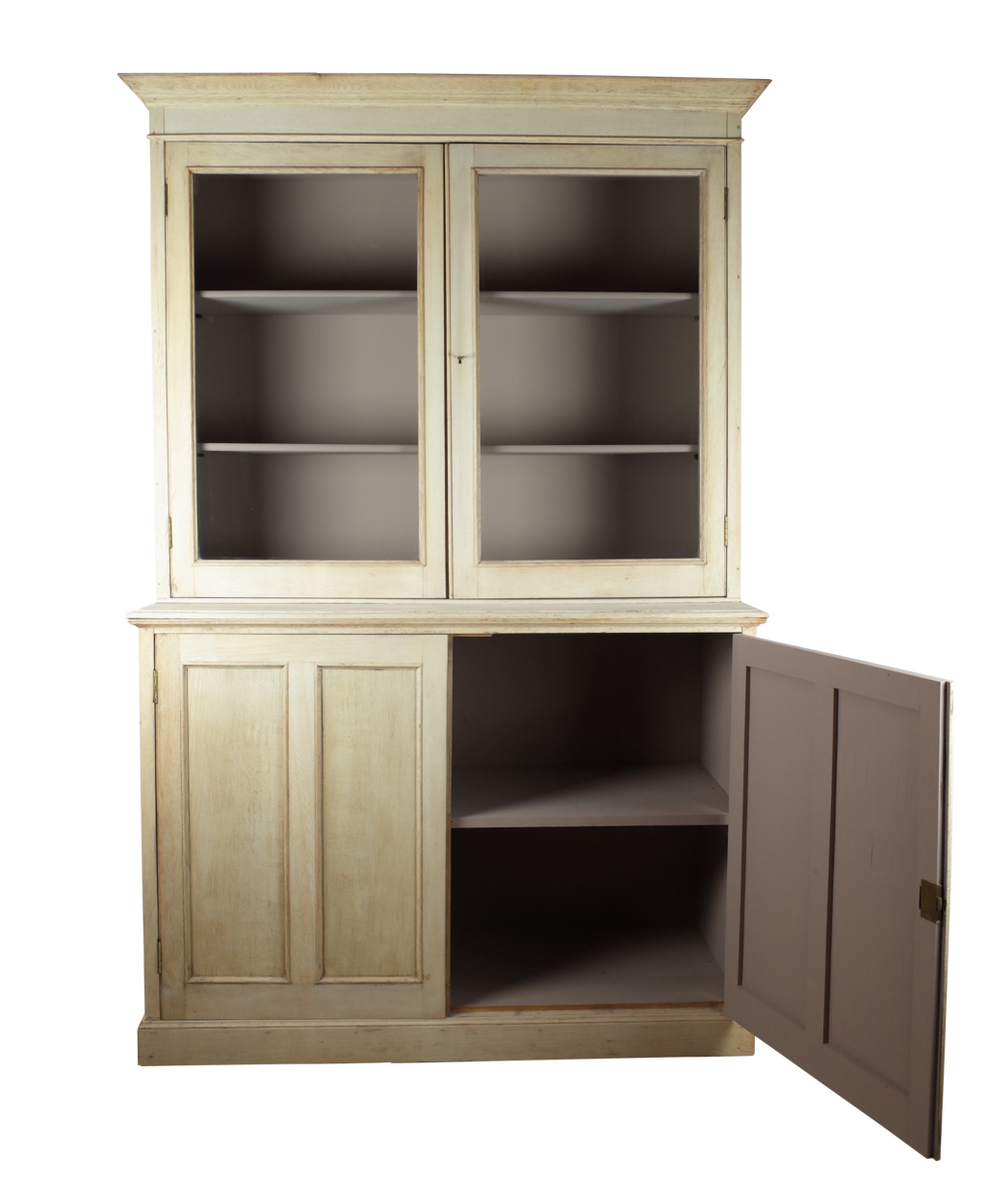 bleached oak bookcase decorative collective. Black Bedroom Furniture Sets. Home Design Ideas