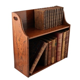 George IV Rosewood Table Bookstand
