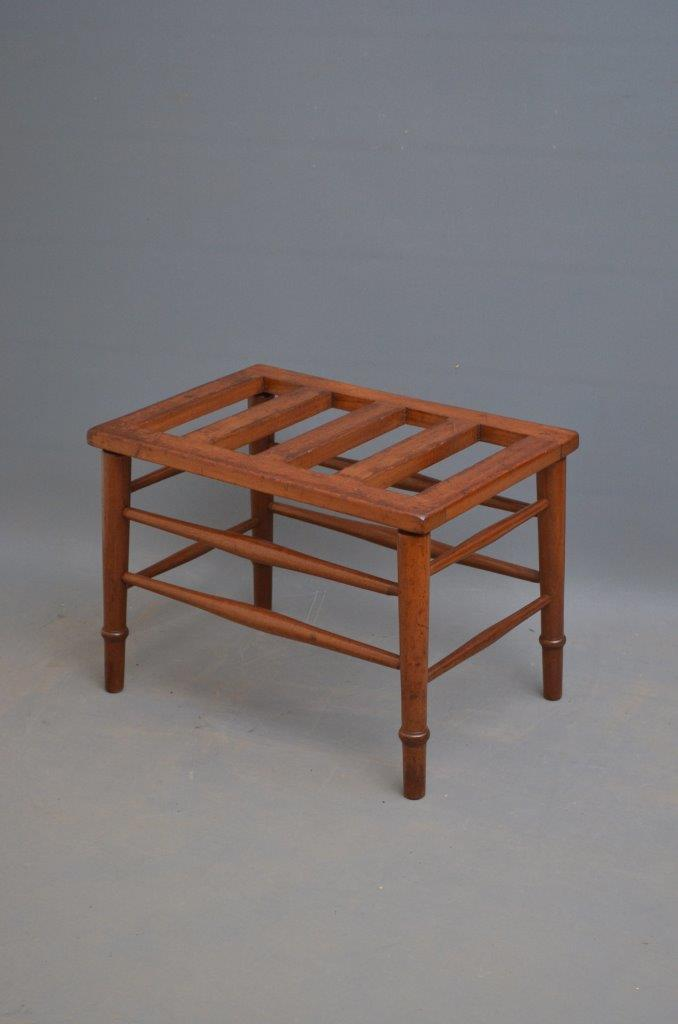 Late Victorian Luggage Rack Victorian Bench Decorative Collective