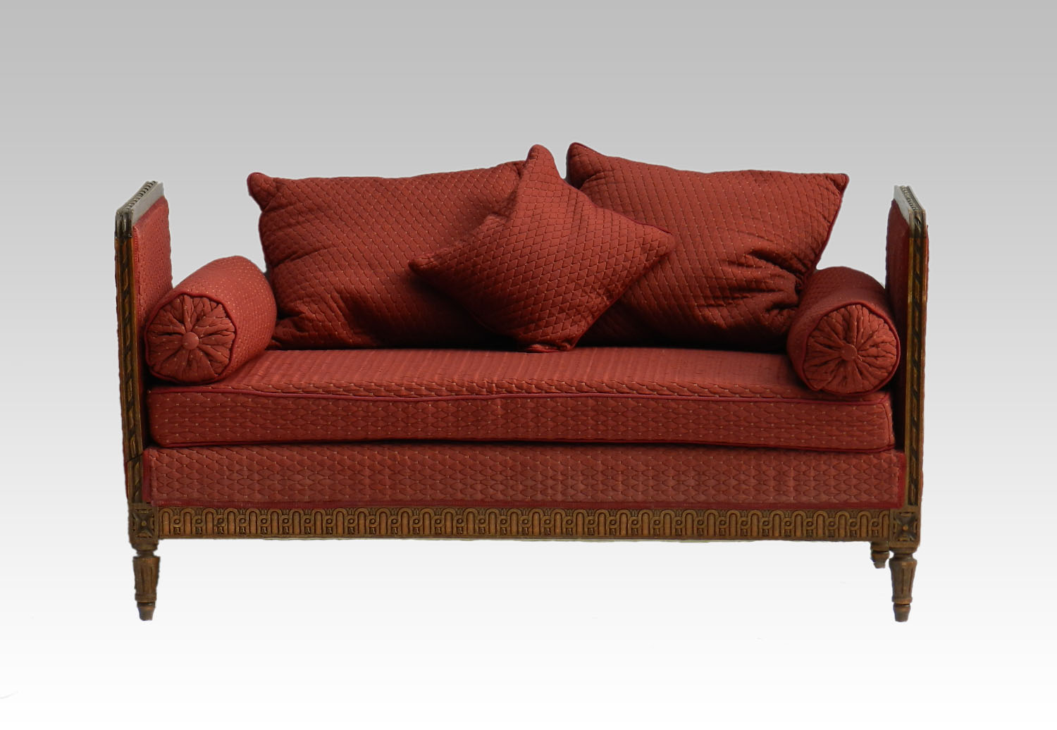 French daybed sofa drop end chaise longue decorative for Chaise daybed sofa